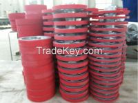 rubber rollers for woodworking machinery, woodworking machinery parts