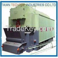 Single Drum Horizontal Chain Grate Soft Coal Hot-Water Boiler