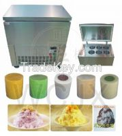 commercial ice block maker for ice shaving machine ice freezer