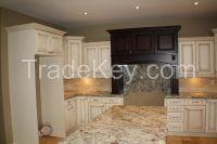 Solid Wooden Kitchen Cabinet