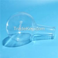 HUAOU Boiling Flask, Round Bottom, Long Narrow Neck, Boro 3.3 Glass, Boiling Flask