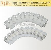 POM Flush Grid Plastic Modular Chain/Flexible conveyor belt