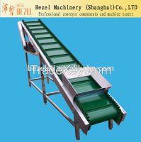 Conveyor System and Slat Conveyor food grade PVC belt conveyor