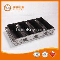 Round corner Aluminium teflon coating baking sheet pan baking pans wholesale