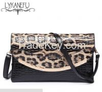 Patent Pu Material Clutch Bag Women Messenger Bags for Women Clutches