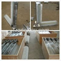 Stainless steel Rotary Double Cow CATTLE  BRUSH for milking machine