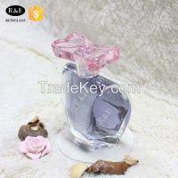wholesale new design empty glass perfume bottle100ml