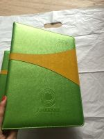 customize A4 , B5 , A5 , A6 Pu leather Notebook with elastic band , ribbon , Pocket