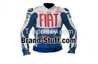 Make To Measure Motorbike Racing leather jacket, Race Wear Jacket, motorrad motorbike racing leather jacket, Mens White Blue multicolor Motorcycle Racing Biker Leather Jacket
