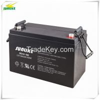12V100ah Rechargeable Solar Power Gel Solar System UPS Battery