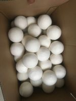 Good quality laundry dryer ball washing powder free laundry ball dryer llint balls