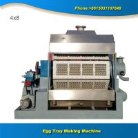 High efficiently used paper egg tray making machine