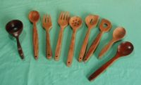 dinnerware: spoons sets, spoon and fork, ladles, spatulas, scoops