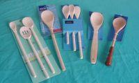 dinnerware: spoons sets, spoon and fork, ladles, spatulas, scoops