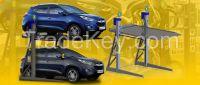 Rotating platform car
