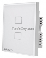 Broadlink Smart Home E-Touch 2-Gang Switch