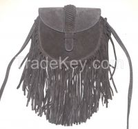 Chinese Fashion tassel shoulder bag with flap