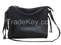 Chinese Fashion Hobo Bag with Top and Back Zipper