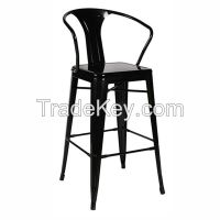 metal high stool chair bar stool