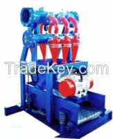 oil drilling mud solid control desilter