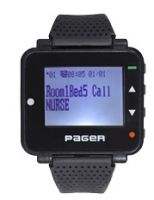 Watch pager Pocsag paging system receiver waiter wrist pager buzzer wireless beeper