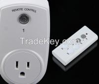 American remote control socket