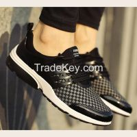 Cheapest Sneakers New Korean Fashion Breathable Mixed Colors Casual Sports Shoes Grey Black