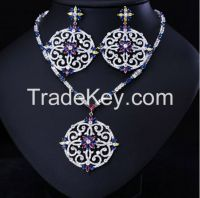 high quality gold plated jewelry sets/beautiful dubai gold jewelry set