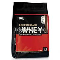 100% GOLD STANDARD NUTRITIVE WHEY PROTEINS AVAILABLE