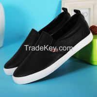 LEYO 2016 SUMMER WOMAN CASUAL SHOES  PU SLIP-ON SNEAKER