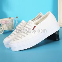 LEYO 2016 summer woman casual shoes shiny canvas  slip-on sneaker