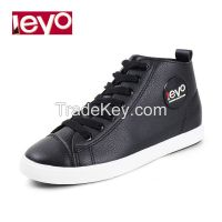 LEYO 2016 spring woman shoes casual shoes pu lace-up sneaker