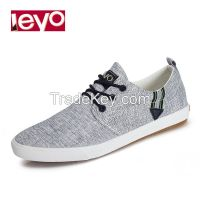 leyo 2016 summer man casual shoes canvas shoes vulcanized shoe lace-up sneaker