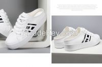 LEYO 2016 SUMMER WOMAN CASUAL SHOES PUNCH PU SLIP-ON SNEAKER