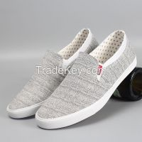 leyo 2016 summer man casual shoes canvas shoes vulcanized shoe slip-on sneaker