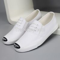 LEYO 2016 SUMMER WOMAN CASUAL SHOES CANVAS FAKE LACE-UP SLIP-ON SNEAKER