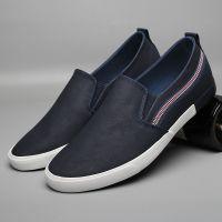 leyo 2016 summer man casual shoes pu shoes vulcanized shoe slip-on sneaker
