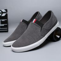 LEYO 2016 summer man shoes solid color navy or black washed canvas casual shoes fashion slip-on sneaker