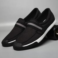 LEYO summer man shoes canvas casual shoes fashion slip-on sneaker