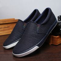LEYO summer man shoes black brown or navy color casual shoes fashion slip-on sneaker
