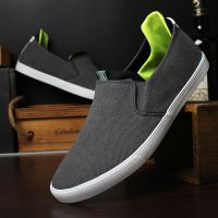 LEYO summer man shoes black or blue color casual shoes fashion slip-on sneaker