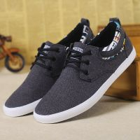 LEYO summer man shoes  black or grey color casual shoes fashion lace-up sneaker