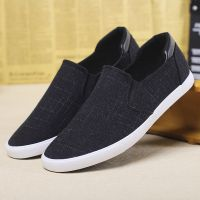 LEYO summer man shoes  black or navy color casual shoes fashion slip-on sneaker