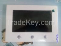 7inch LCD Vedio Advertising Card/Promotional Brochure/Greeting Card/Wedding Invitation Card