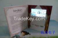 """4.3""""LCD Vedio Greeting Card/Bussiness Promtotional Card/Advertising Brochure"""