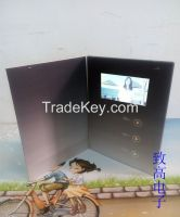 "4.3""LCD Vedio Greeting Card/Bussiness Promtotional Card/Advertising Brochure"