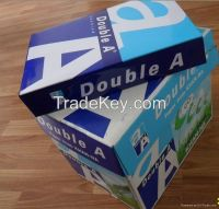 Double A a4 copy paper 80Gsm/75Gsm /70Gsm , PaperOne ,Xerox Copy paper, Laser / Copier Paper supplier