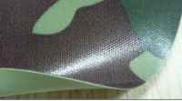 Camouflage PVC Coated Polyester Knitted Fabric for Chest Wader