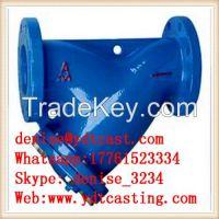 y type filter strainer
