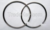 Piston, piston pin, piston ring